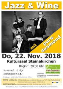 Plakat Jazz & Wine